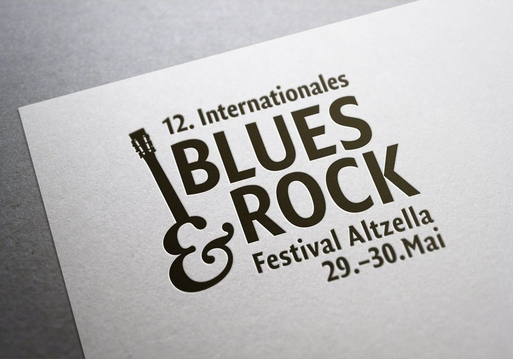 Logo des 12. Internationalen Blues & Rock Festival Altzella